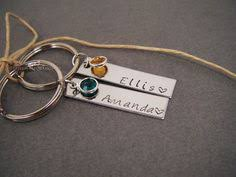 personalized birthstone keychains birthstone keychains for couples personalized name keychains