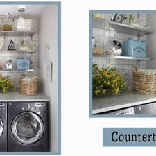 ideas laundry room storage ideas with wicker basket and floating