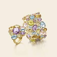 rings gemstones diamonds images Nanis ipanema rings in 18kt gold diamonds and gemstones as11 515 jpg