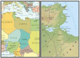 tunisia physical map tunisia s current electrical energy tripled by hypersalinity