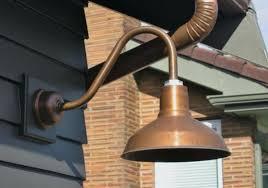 copper landscape lighting fixtures solid outdoor light exterior