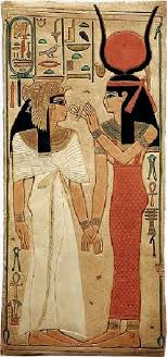 queen nefertari tattoo the goddess isis and queen nefertari wife of ramesses ii 19th