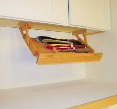 Under Cabinet Shelving by Amazon Com Under Cabinet Mounted Knife Rack Kitchen U0026 Dining
