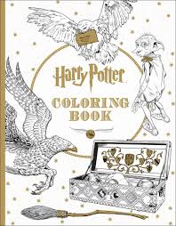 Turn Pictures Into Coloring Pages App Harry Potter Coloring Book Scholastic 9781338029994 Amazon Com