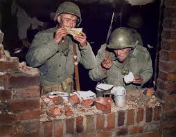 thanksgiving day in europe thursday ww2 colourised photos