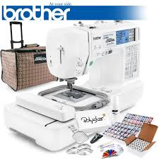 brother lb6800prw sewing and embroidery machine w usb port and