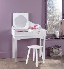coiffeuse chambre ado coiffeuse pour enfant idées décoration intérieure farik us
