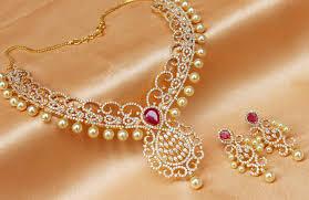 necklace sets designs images Buy gorgeous high gold plated cz designer necklace set online jpg