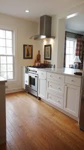 Galley Kitchen Width - galley kitchen reno thistle bleu