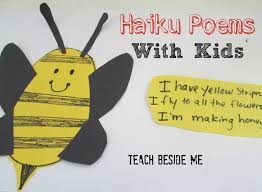 illustrated haiku poems with poem poetry unit and homeschool