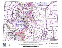 Colorado National Parks Map by Colorado Parks U0026 Wildlife U S Forest Service Contact Information