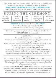 Fun Wedding Programs 12 Best Invite Wording Images On Pinterest Wedding Stuff Funny