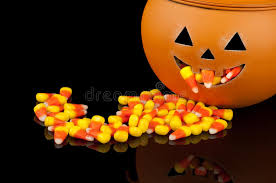 pumpkin candy corn pumpkin with candy corn stock images image 20467054