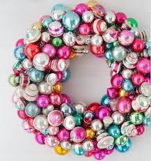 martha stewart bauble wreath http www marthastewart 1043681