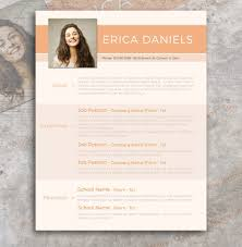 free modern resume templates free modern resume template free design resources