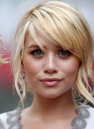 should i get bangs for my hair to hide wrinkles if when i cut a style back into my hair i need to keep twirling