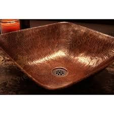 Hammered Copper Bathroom Sink Rustic Bathroom Sinks You U0027ll Love Wayfair