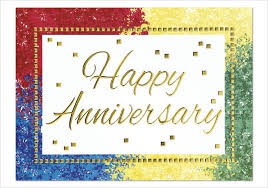 9 work anniversary cards free sle exle format