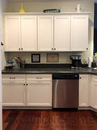white dove on kitchen cabinets painted kitchen cabinets in white dove evolution of style