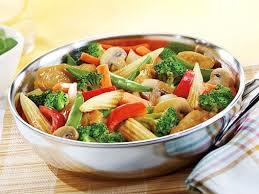 légumes faciles à cuisiner sauté de poulet aux noix de cajou recette légumes surgelés