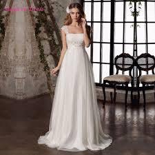 online get cheap pregnant wedding dress sleeve aliexpress com