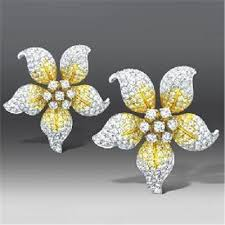 earrings hong kong diamond flower earrings from butani jewellery ltd