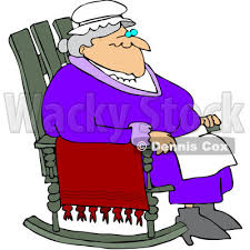 Old Man In Rocking Chair Woman Relaxing In Chair Clipart Cliparthut Free Clipart