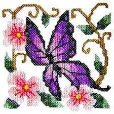 butterfly3 cross stitch butterfly machine embroidery design
