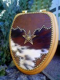 Your Western Decor Western Decorative Toilet Seats and Western