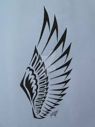 tribal wings tattoo google search tatts pinterest tribal