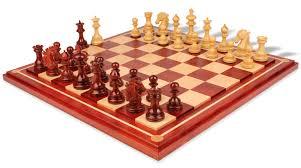 wellington staunton chess set in african padauk u0026 boxwood with