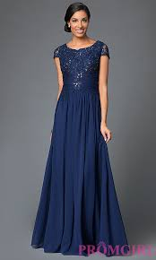 long ruched chiffon prom dress with sleeves promgirl