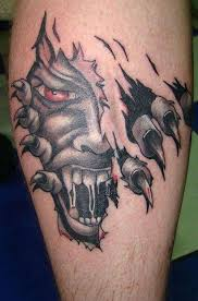 badass skull skeleton tattoos
