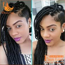 pictures of soft dred crotchet hairstyles 2packs 18 inch black women hairstyles fauxlocs synthetic crochet