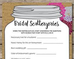 wedding gift questions jar ten questions bridal shower wedding