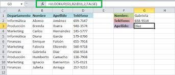 tutorial para usar vlookup función vlookup en excel excel total
