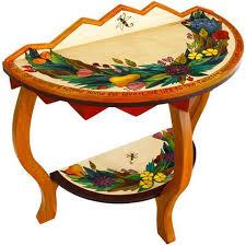 Designer Tables Artistic End Tables Side Tables Artisan Crafted Tables Designer