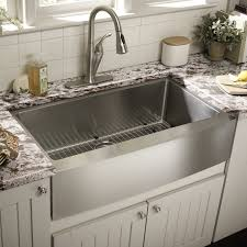 decorating cool grey optimum stainless farmhouse sink beveled in