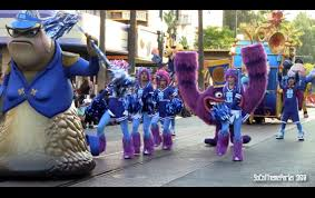 hd full pixar play parade with new monsters university parade
