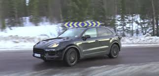 porsche cayenne turbo s horsepower 2018 porsche cayenne spied confirmed to spawn 680 hp turbo s e