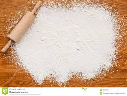 Wooden Kitchen Table Background Baking Flour Texture Background Stock Images Image 36897014