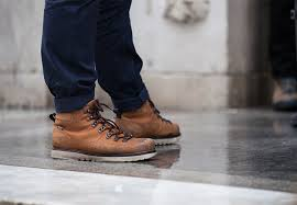 street style the best snow fighting boots in new york city photos
