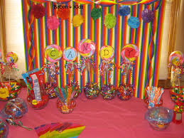 interior design new candy themed birthday party decorations home