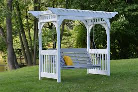 arbor swing plans exteriors page 3 beautiful curbside landscaping ideas for sweet
