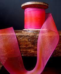 iridescent ribbon two tone iridescent wired ribbon