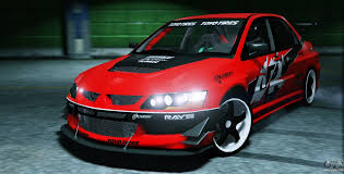 mitsubishi lancer evolution 9 2006 mitsubishi lancer evolution ix 2 0 for gta 5