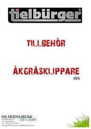 2016 tielbuerger tillbehör åkggräsklippare by skarholmens issuu
