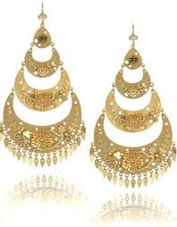 arabian earrings stilletos and stylish divas gold earrings