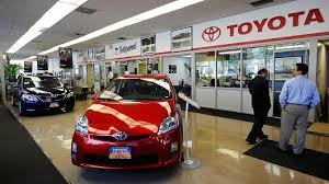 toyota car showroom toyota and mazda plan to build 1 6 billion us plant in joint venture