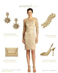 neutral dress for the mother of the bride weddings mob dresses